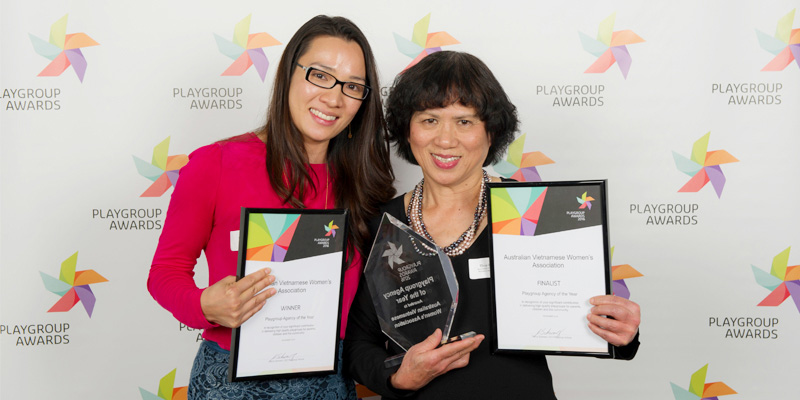 AVWA won Playgroup Agency of the Year